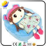 Милый животный мешок детей мешка шаржа детей годовалого младенца 1-2-3-4 людей и женщин Backpack плюша куклы