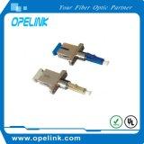 Adaptador óptico de fibra para el cable de fibra óptica