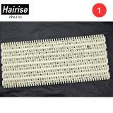 Hairise ISO-perforiertes flaches modulares Plastikförderband mit Ausbohrungen