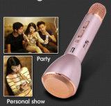 Microphone de condensateur sans fil de karaoke de Bluetooth de mini mode fraîche portative colorée K088