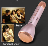 Microfone de condensador sem fio K088 do karaoke de Bluetooth da mini forma fresca portátil colorida