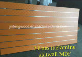 ISO9001: MDF da melamina do entalhe de 2008 1220*2440mm