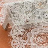 Tessuto sexy di nylon floreale del merletto