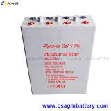 Bateria tubular 2V1500ah do gel de Opzv para a potência solar