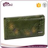 Портмоне монетки бумажника женщины Fani неподдельное Cowwhide кожаный
