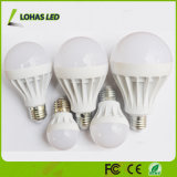 세륨 RoHS 중국 제조자를 가진 에너지 절약 플라스틱 LED 전구 3W 5W 7W 9W 12W 15W 18W LED 전구