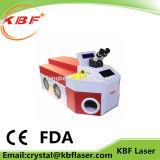 máquina de soldadura do ponto do laser da jóia da elevada precisão de 60With100With200W YAG