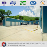 Immeuble de bureau léger préfabriqué de structure métallique