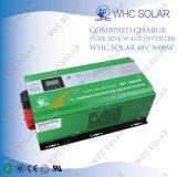 fora do inversor da célula solar da grade com carregador 48V 5000W