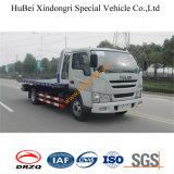 7ton FAW 편평한 견인 트럭 유압 Euro3