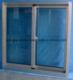 Glasig-glänzendes schiebendes Aluminiumfenster aussondern