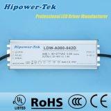 80W Waterproof o excitador ao ar livre do diodo emissor de luz da fonte de alimentação do controle IP65/67 cronometrando