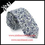 Le coton a estampé la relation étroite de collet de mode de Mens florale