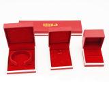 Boîte en plastique antidérapante en PVC personnalisée pour bijoux (J17-E2)
