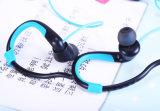 Receptor de cabeza sin hilos de Bluetooth de la pista doble del gancho de leva del oído del deporte Bt-008 4.2
