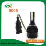 Nsl 까만 광속 9005 LED 차 헤드라이트 H13 9006 H1 H3 H7 H11 H13 플러그 앤 플레이 LED 헤드라이트 대화 장비