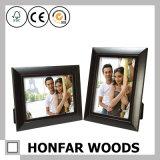 """Frame de madeira preto lustroso da foto do retrato """" X8 """" da sombra 6"""