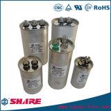 Capacitor Sh do condicionamento de ar Cbb65 com o capacitor da película de dois ou três terminais