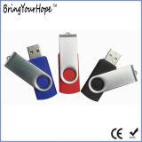 16GB поворачивая привод вспышки USB Keychain (XH-USB-001)