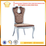 Manera que cena el acero inoxidable de la silla que cena la silla de cena de lujo de la silla