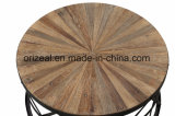 Restaurante Lazer Mesa de café em madeira ao ar livre Personaliza mesa de chá