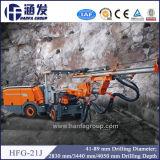 La explotación minera o el túnel de la correa eslabonada de Hfg-21j abajo agujerea el taladro