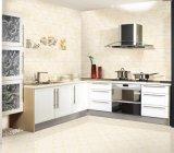 300X600mm hanno lustrato le mattonelle di ceramica della parete di sembrare di marmo di superficie per la cucina