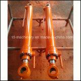 Conjunto de efeito duplo do cilindro hidráulico da alta qualidade Sh60 usado para a maquinaria ou a máquina escavadora da engenharia