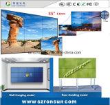 L'encadrement étroit 42inch 47inch 55inch amincissent l'écran visuel de épissure de mur de DEL