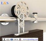 Glissement du matériel de porte de grange de système de porte de grange pour le matériel de porte coulissante