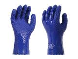 Перчатки 999 работы перчаток PVC нового типа противоскользительные