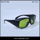Vidros de segurança do laser 808nm/980nm/1064nm de Yhp/óculos de proteção protetores para o diodo e o ND: Ce En207 da reunião dos lasers de YAG