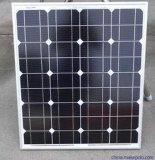 Única luz de rua solar com poste de aço