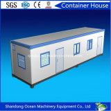 Casa pré-fabricada do recipiente do bloco liso da venda quente do material de construção da construção de aço