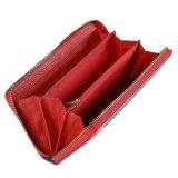 Повелительница Бумажник способа, бумажник женщин PU, бумажник застежки -молнии высокого качества