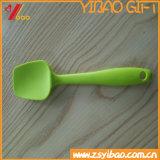 Colher colorida do silicone do produto comestível de boa qualidade