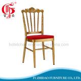 結婚式の移動式シート・クッションが付いているアルミニウムChiavariの椅子