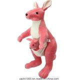 Luxuoso vermelho do brinquedo do canguru com certificação de segurança
