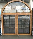 Woodwin Produto principal Janela de madeira maciça de madeira com vidro duplo