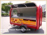Ys-Fv300 het Goedkope Mobiele Restaurant van de Aanhangwagens van de Catering voor Verkoop
