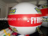 طيران خارجيّة يعلن يشبع طباعة قابل للنفخ علامة تجاريّة كرة منطاد
