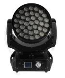 LED 급상승을%s 가진 이동하는 헤드 37* 10W RGBW 4in1 LED 세척 효력 빛