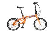 16 '' 20 '' Gang-nichtelektrisches Antriebsachsen-faltendes Fahrrad-Fahrrad des China-faltendes Fahrrad-3 mit Aluminiumgabel-preiswertem Preis