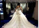 2017 Lace A-Line Robes de mariée en mariée Z003