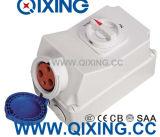 125A 5p Elektrische Met elkaar verbonden Schakelaar de van de EEG van de Vergaarbak