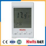 Venda quente Modbus termostato programável do quarto de 12 Digitas do volt