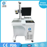 Precio superior de la máquina de la marca del laser de la fibra de la escritura de la etiqueta de la etiqueta de la garantía de la alta precisión de Dongguan Qualtiy