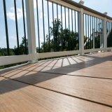 Quadrato esterno del ferro di alta qualità poco costosa ed aste della ringhiera rotonde del balcone