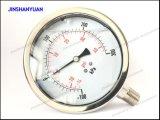 Og-019ブルドン管圧力計か放射状の方向台紙の圧力計