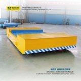L spola materiale di trasporto del camion ferroviario di figura con la Tabella di sollevamento